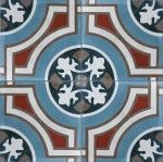 Cement Encaustic Tiles by Bespoke Tile and Stone and Earp Bros. Contact your local Earp Bros Showroom for a tile sample or more information. Natural Flooring, Encaustic Tile, Hexagon Tiles, Natural Area Rugs, Barndominium, Moorish, Floor Design, Tile Patterns, Decoration