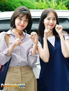 SNSD [no Seohyun] - KBS Building for Happy Together recording Sooyoung, Yoona, Snsd, Taeyeon Jessica, Im Yoon Ah, Happy Together, Kpop, 1 Girl, Korean Artist