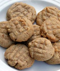 Recipe for Perfectly Chewy Peanut Butter Cookies