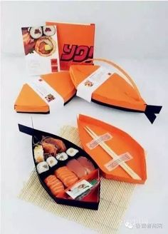餐饮O2O时代,外卖包装盒有多重要? | 界面 · JMedia Takeaway Packaging, Clever Packaging, Japanese Packaging, Food Packaging Design, Print Packaging, Packaging Design Inspiration, Sushi Design, Box Design, A Table