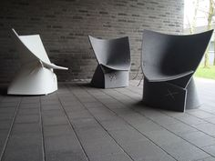 Design duo Fox and Freeze , James van Vossel and Tom de Vrieze, produced their first studio collaboration called the ff1 or fox & freeze 1 chair.