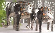 Handmade #nickel indian elephant tea #light tea#light candle #holder ornament gift,  View more on the LINK: http://www.zeppy.io/product/gb/2/301958207141/