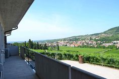 Sleeping in the winery and in the morning whne you wake up you can have this panorama in the balcuny!