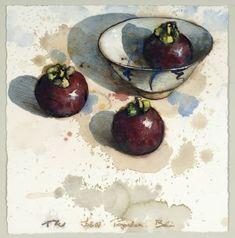 'Three Mangosteens' by Thornton Walker