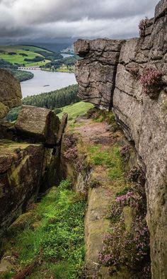 Bamford Edge, England Ireland Uk, Bamford, Rock Formations, Landscapes, England, Nature, Travel, Paisajes, Scenery