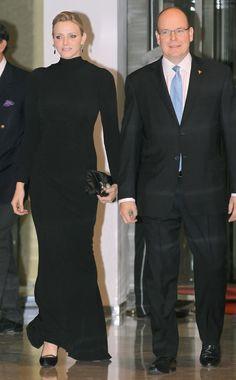 Prins Albert en Prinses Charlene