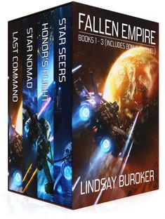 The Fallen Empire Collection by Lindsay Buroker