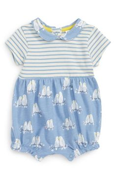 65a53d890aba Free shipping and returns on Mini Boden Mixed Print Romper (Baby Girls) at  Nordstrom