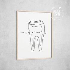 Dentist Art, Gifts For Dentist, Dental Office Decor, Office Art, Arte Krishna, Dental Pictures, Tooth Tattoo, Dental Clinic Logo, Dental Life