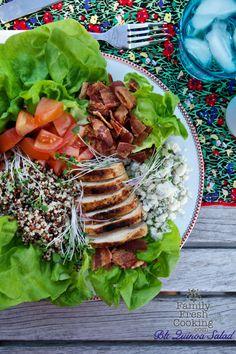 BLT Quinoa Salad | FamilyFreshCooking.com