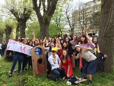 Les Joutes universitaires - Le groupe des internationaux - CIDEF
