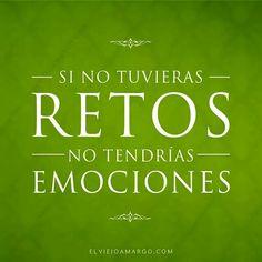 #retos #emociones