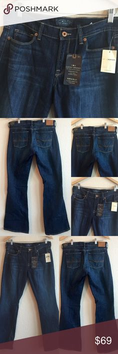 """Brand NEW! 🌟 Lucky Brand Jeans 🌟 Size 10, 30 Brand new with tags! (30"""" inseam) 💗💗💗 Lucky Brand Jeans Boot Cut"""