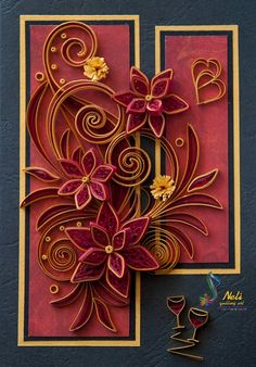 Neli is a talented quilling artist from Bulgaria. Her unique quilling cards bring joy to people around the world...