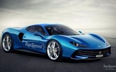 Resource TopSpeed has published a rendering of the alleged appearance of the Ferrari Dino, which has already been confirmed officially. The company Ferrari is