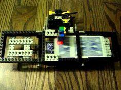 Lego Mindstorms Playing Card Shuffler