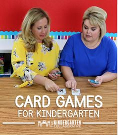 Do you have stacks of playing cards in your class and not sure what to do with them?Here are some of our favorite educational games to play with a deck of cards. Join us at The Kindergarten Collaborative for lots of great ideas for your kindergarten classroom (and download our free guide).