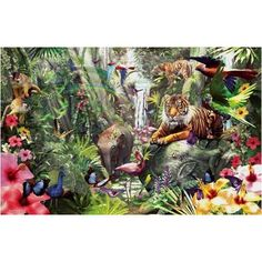 Sunsout Asian Forest 1000 Piece Jigsaw Puzzle SunsOut