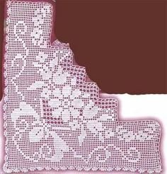 Filet Crochet, Crochet Patterns Filet, Crochet Motif, Different Stitches, Embroidery, Knitting, Fanfiction, Crochet Table Runner, Dish Towels
