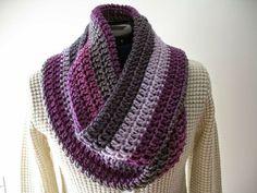 Modelos para cachecol de tricô e crochê 5