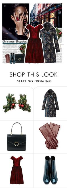 """""""christmas style"""" by helena99 ❤ liked on Polyvore featuring Burberry, CÉLINE, Maison Fabre, Maison Margiela, vintage, holidaystyle and maisonmargiela"""