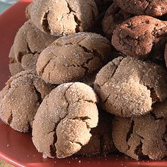 Spicy Molasses Crackles | For easy cleanup, line baking sheets with parchment paper.