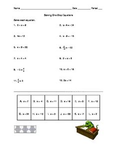 Negative Exponents Worksheet | Students, Math and Worksheets