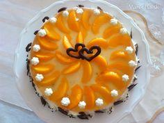 Tvarohovo-šľahačková ovocná torta - Recept