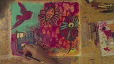 Art Journal Workshop: Layers -- 5 Years Later (+playlist)