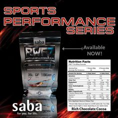 Whey protein from Saba! We use only the BEST ingredients in our formulas. Available in Rich Chocolate Cocoa and Vanilla Ice Cream at www.sabaforlife.com/AceByAbby