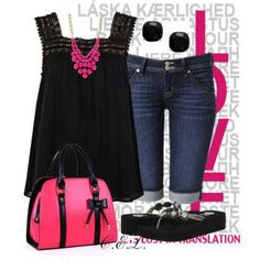 Again with the black and pink!