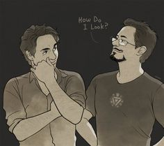 """""""With your eyes, Tony."""""""