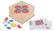 Use this multi-corner-mirror to do additional work with the Pattern Blocks. This multi-corner-mirror contains of two separate mirrors and a qooden board where they can be inserted to form a angle. Corner Mirror, Mirror Art, Mirrors, Card Patterns, Science For Kids, Pattern Blocks, Kids Rugs, Reggio, Cards