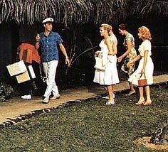 "Elvis at Coco Palms Resort, Kauai, Hawaii - ""Blue Hawaii"""