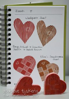 StampingMathilda: Carving stamps - Hearts