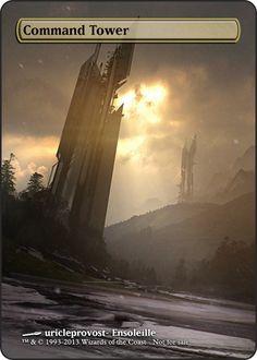 Magic the Gathering - Command Tower by ASliceOfUnagi