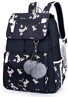 Stylish School Bags, High School Bags, Cute School Bags, School Bags For Kids, Black School Bags, Cute Girl Backpacks, Stylish Backpacks, Kids Backpacks, School Backpacks