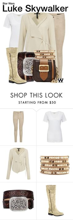 """""""Star Wars"""" by wearwhatyouwatch ❤ liked on Polyvore featuring rag & bone, Cotton Citizen, Sarah Pacini, Chan Luu, Ariat, Easy Street, Burberry, wearwhatyouwatch, film and starwars"""