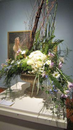 Ophelia by Jules Joseph Lefebvre; interpreted by Stephanie Robinson, Durocher Florist