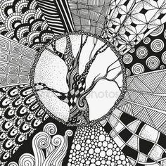 İndir - Sanatsal etnik desen. ay — Stok İllüstrasyon #103801666