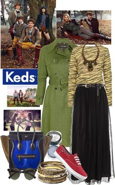 """""""Fall Hard for Keds"""" by emilymiller ❤ liked on Polyvore"""