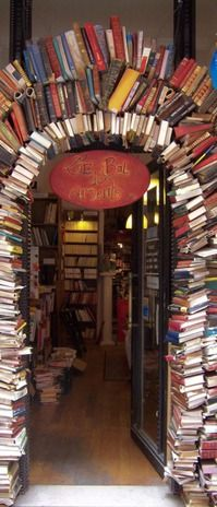 Doorway to bookworm Heaven?