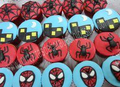 Image detail for -Spiderman y cupcakes   JMR Tortas Decoradas