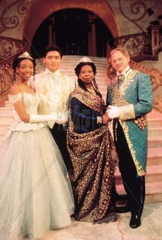 Cinderella with Whoopie, Brandy & Whitney. This will always be MY Cinderella story