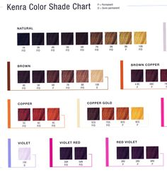 Hair Color Kenra Permanent Line Of Strands Clinic 2