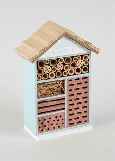 Wooden Insect House (26cm x 18cm x 9cm)