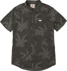 189614a2af Andrew Reynolds Hawaiian Button-Up Shirt | RVCA Mens Tops, Mens Printed  Shirts,