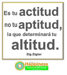 la actitud es lo q importa y q al final hace la diferencia