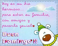 BUEN DOMINGO.....