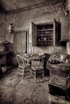Reportedly haunted locations in California.  The list is by county.  Pictured:  Bodie, California by Jim Shoemaker
